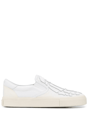 AMIRI Skel Toe slip-on trainers - White