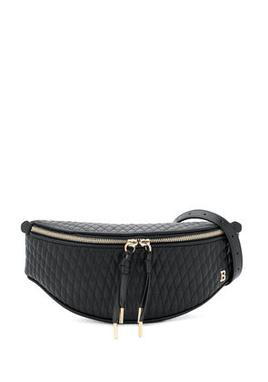 Bally quilted style belt bag - Black
