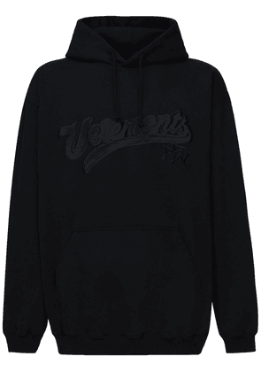 Hip Hop Embroidery Cotton Blend Hoodie