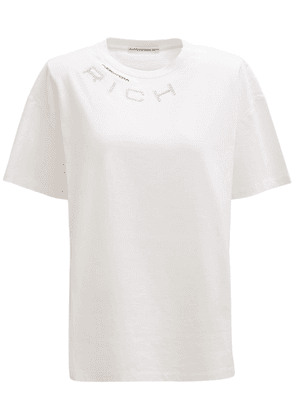 Over Logo Cotton Jersey T-shirt