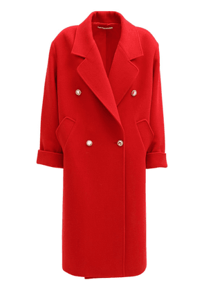 Oversize Wool & Cashmere Long Coat