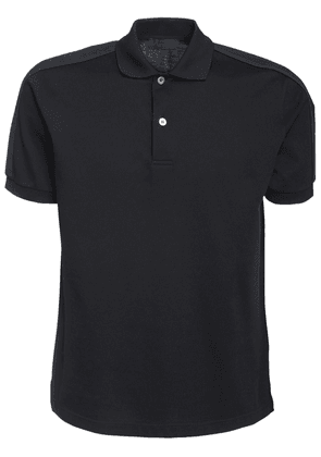 Logo Band Cotton Polo Shirt