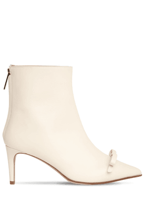 60mm Leather Ankle Boots