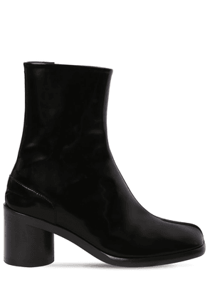 60mm Brushed Leather Ankle Boots