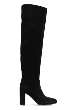 85mm Suede Over-the-knee Boots
