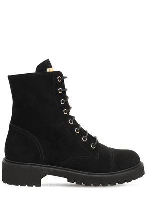 30mm Suede Ankle Boots