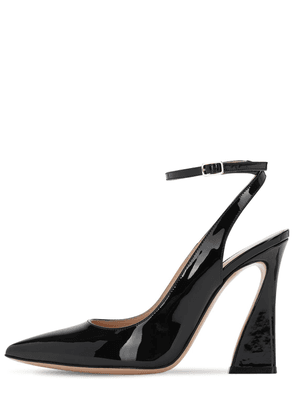 105mm Patent Leather Pumps