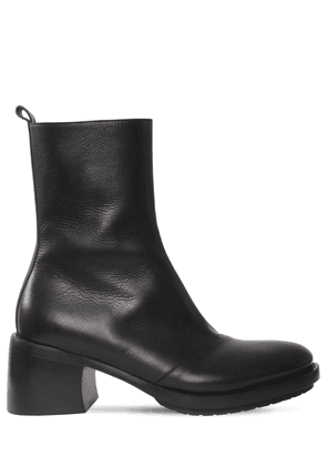 70mm Leather Boots