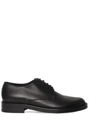 30mm Leather Lace-up Shoes