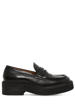 New Forest Coin Leather Penny Loafers