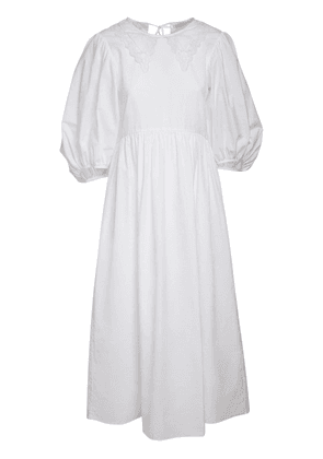 Mette Cotton Poplin Dress