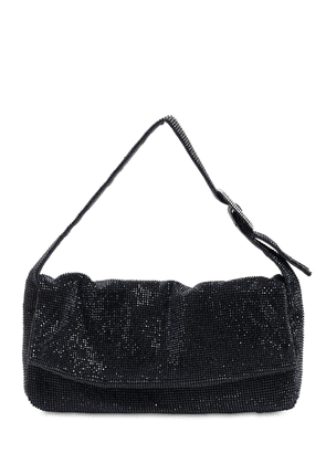 La Monique La Grande Crystal Mesh Bag