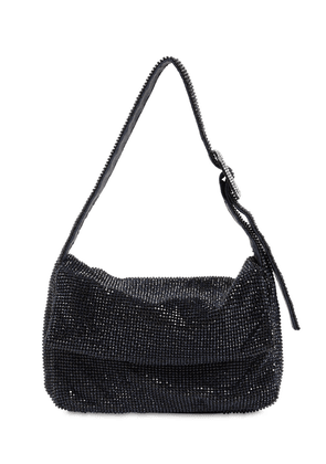 La Monique La Mignon Crystal Mesh Bag