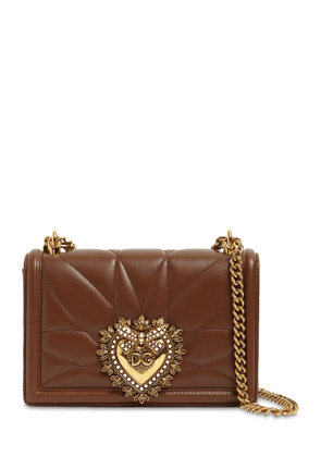 Small Devotion Quilted Leather Bag