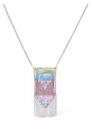 Rainbow Mesh Pendant Necklace