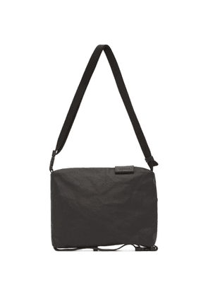 Cote and Ciel Black Coated Canvas Small Inn Bag