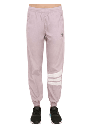 Striped Logo Printed Track Pants