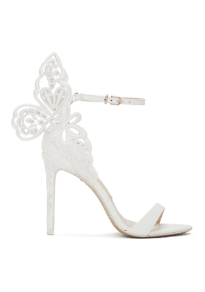 Sophia Webster White Chiara Sandals