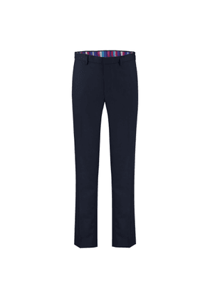 KOY Clothing - Navy 100% Wool Suit Trousers