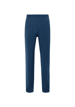 Balenciaga - Wide-Leg Twill Trousers - Men - Blue