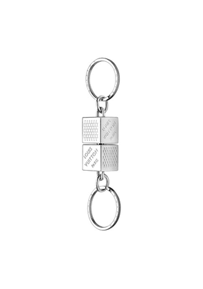 Damier Cube valet key holder