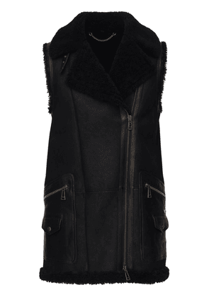 Leather & Shearling Piper Vest
