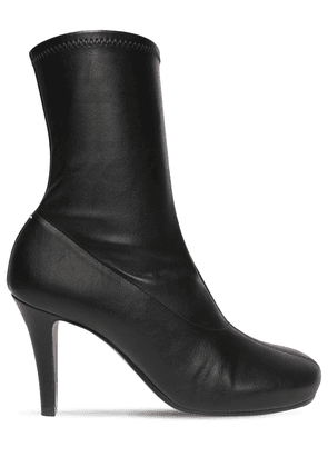 80mm Tabi Faux Leather Ankle Boots