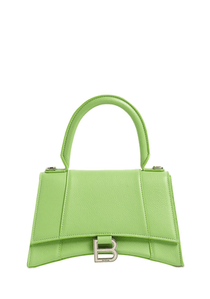 Sm Hourglass Grained Leather Bag