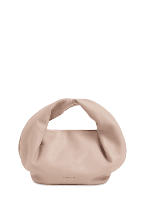 Lola Smooth Leather Top Handle Bag