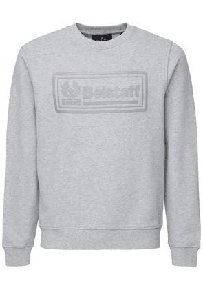 Oulton Logo Patch Cotton Sweatshirt