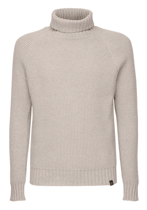 Marine Virgin Wool Knit Sweater