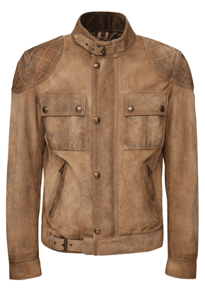 Brookstone Burnished Suede Jacket