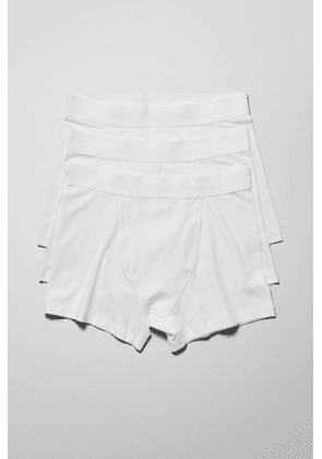 Johnny Boxers 3-Pack - White