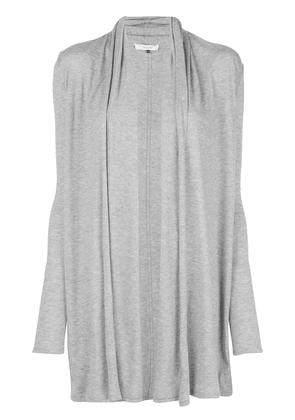 The Row fine knit mid-length cardigan - Grey