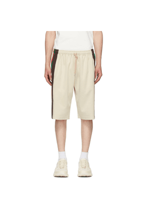 Gucci Off-White Technical Jersey Shorts