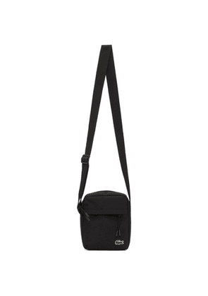 Lacoste Black Canvas Neocroc Bag
