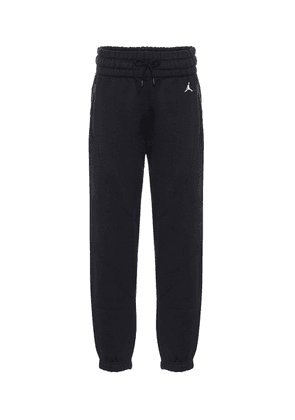 Jordan cotton-blend jersey trackpants