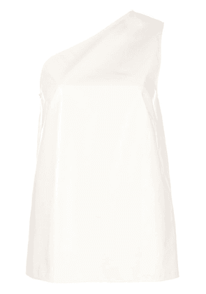 Calvin Klein 205W39nyc one shoulder top - White