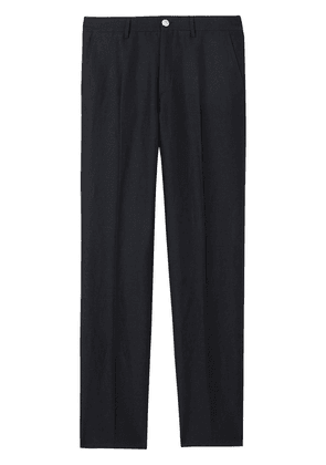 Burberry classic fit tailored trousers - Blue