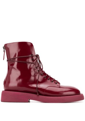 Marsèll Parrucca zip-up ankle boots - Red