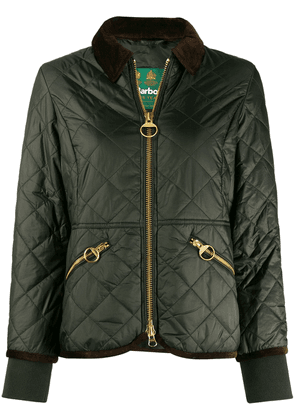 Barbour quilted bomber jacket - Green