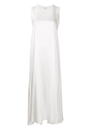 P.A.R.O.S.H. sleeveless maxi dress - White