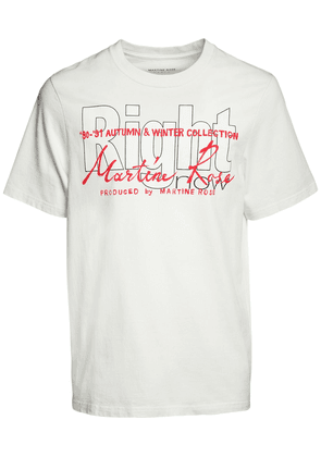 Right Printed Cotton T-shirt