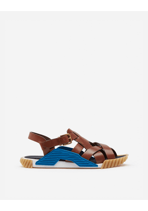 Dolce & Gabbana Sandals and Slides - NS1 SANDALS IN COWHIDE MULTICOLORED