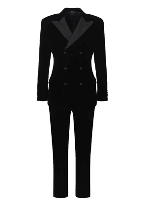 17cm Double Stretch Velvet Tuxido Suit