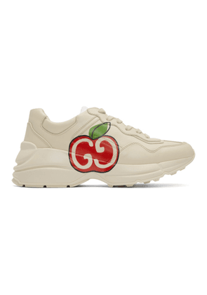 Gucci Off-White GG Apple Rhyton Sneakers