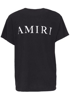 Amiri Bones Print Cotton T-shirt