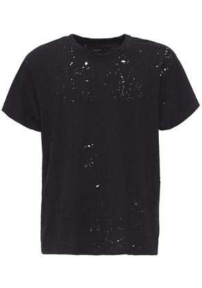 Destroyed Cotton T-shirt