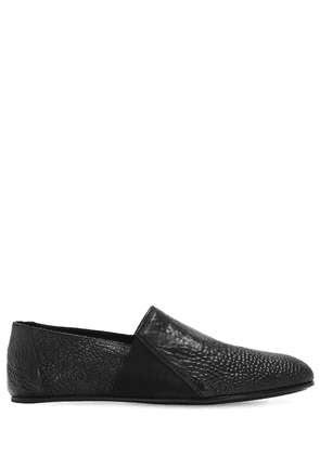 Lauf Waxed Leather Loafers
