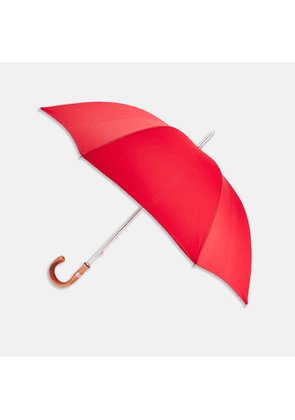 Red Umbrella with Chestnut Crook - OS